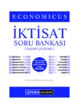 KPSS A Grubu Economicus İktisat Tamamı Çözümlü Soru Bankası