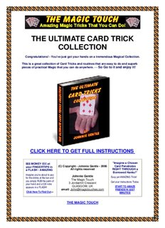 THE ULTIMATE CARD TRICK COLLECTION