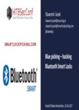 Blue picking – hacking Bluetooth Smart Locks