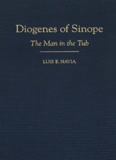 Diogenes of Sinope: The Man in the Tub