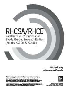 RHCSA/RHCE Red Hat Linux certification study guide : (exams EX200 & EX300)