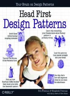 Eric Freeman, Elisabeth Freeman, Kathy Sierra, Bert Bates-Head First Design Patterns