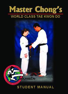 Master Chong's Student Manual