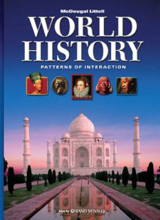 World History, Grades 9-12 Patterns of Interaction Full Survey: Mcdougal World History Patterns of Interaction