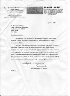 Sonia Gandhi's deeds
