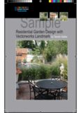 Residential Garden Design with Vectorworks Landmark by Tamsin Slatter