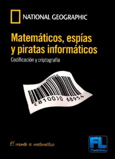 Matemáticos, espías y piratas informáticos: codificación y criptografía