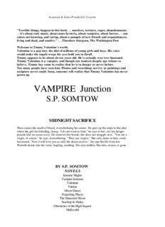 S. P. Somtow - Vampire Junction