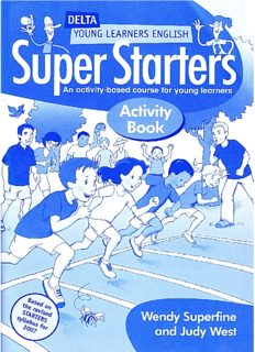 Super Starters Activity Book: An Activity-based Course for Young Learners (Delta Young Learners English)