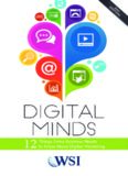 Digital Minds - 12 Things Every Business Needs to Know About Digital Marketing
