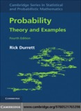 Probability: Theory and Examples, Fourth Edition