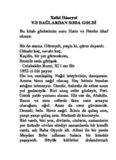Xalid Hüseyni VƏ DAĞLARDAN SƏDA GƏLDİ Bu kitab gözlərimin nuru Haris və Fərəhə ithaf ...