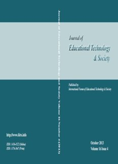 Educational Technology & Society Educational Technology