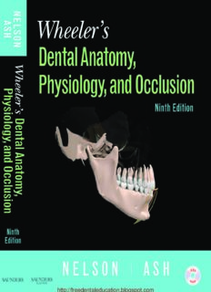 Wheeler's Dental Anatomy, Physiology and OcclusionVersion
