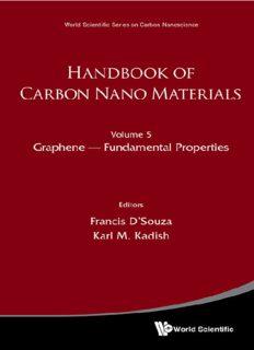 Handbook of Carbon Nano Materials: (In 2 Volumes) Volume 5: Graphene - Fundamental Properties Volume 6: Graphene - Energy and Sensor Applications