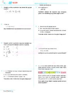 Acil TYT Matematik Soru Bankası 2018-19
