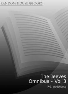 The Jeeves Omnibus volume 3
