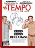 Majalah Tempo 03 Oktober 2016: Kring Kring Reklamasi