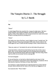 The Vampire Diaries 2 - The Struggle