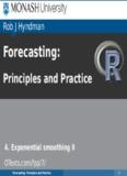 Forecasting - Rob J Hyndman