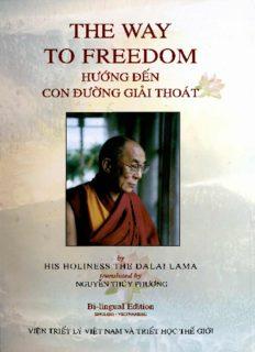 The Way To Freedom - H. H. Dalai Lama