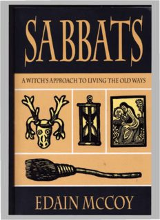 Edain Mccoy Sabbats
