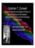 Gretchen T Cornwell Gretchen T. Cornwell