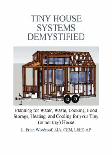 Tiny House Systems Demystified: Planning for Water, Waste, Cooking, Food Storage, Heating, and Cooling for Your Tiny (or not so tiny) House