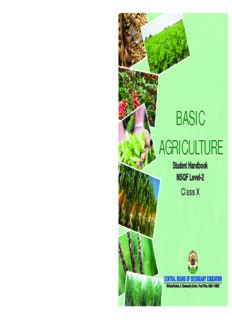 basic agriculture basic agriculture