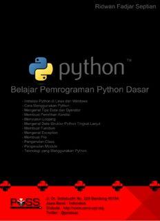Python Dasar – POSS UPI