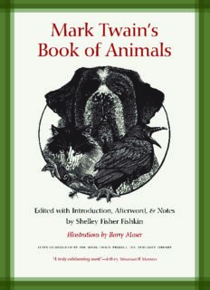 Mark Twain's Book of Animals: Jumping Frogs: Undiscovered, Rediscovered, and Celebrated Writings of Mark Twain