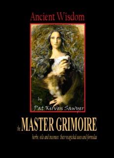 Pat Kirven Sawyer MASTER GRIMOIRE - 7th-house.com