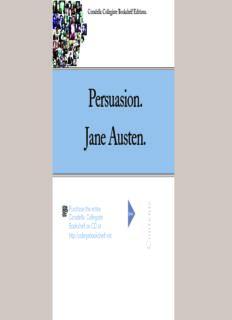 Persuasion. Jane Austen.