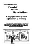 "Our Prophecy Text-book: ""Understanding Daniel & Revelation"""