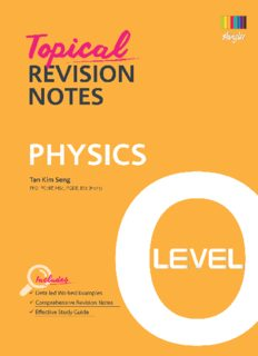 Topical Revision Notes Physics O Level