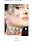 Specials Uglies Book 3 by Scott Westerfeld - Miss Cecilia