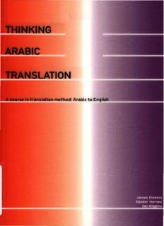 25.Thinking Arabic Translation A Course in Translation Method Arabic to English.pdf