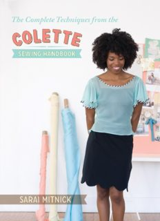 The Complete Techniques from the Colette Sewing Handbook