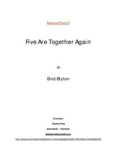 Famous Five 21 - Five Are Together Again By Enid Blyton