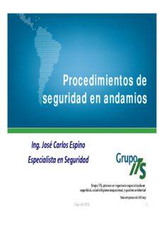 Trabajos en andamios CAPAC 2016 parte 1