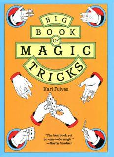 Big Book of Magic Tricks (Dover Books on Magic)