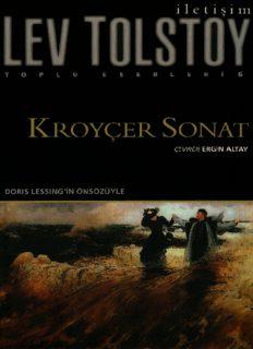 Kroyçer Sonat - Lev Nikolayeviç Tolstoy