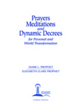 Prayers Meditations And Dynamic Decrees For Personal And World Transformation