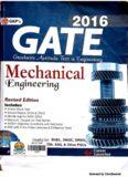 GATE Guide Mechanical Engineering 2016