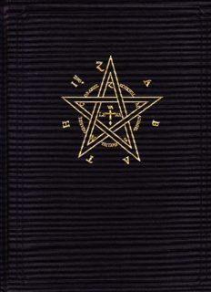 The Magic Seal of Dr. John Dee. The Sigillum Dei Aemeth