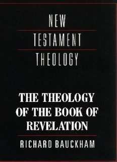 The Theology of the Book of Revelation (New Testament Theology)