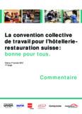 La convention collective de travail pour l'hôtellerie - L-GAV