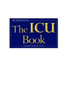 Marino's The ICU Book: