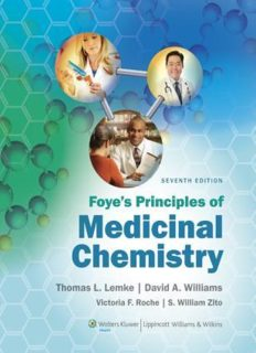 foye's principles of medicinal chemistry 7th edition unlocked