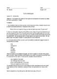 Name: Date: Ms. Hepner English 10R To Kill A Mockingbird